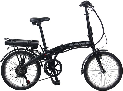 Dawes Curve 36V 10Ah 2021 - Electric Folding Bike