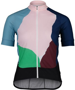 POC Essential Road Womens Short Sleeve Print Cycling Jersey