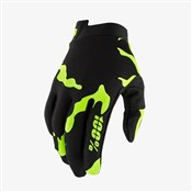Product image for 100% itrack Youth Long Finger Cycling Gloves