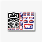 """Product image for 100% Decal Sheet 8 x 5 1/2"""""""