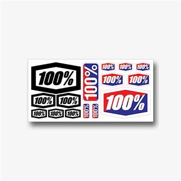 "100% Decal Sheet 8x4"""
