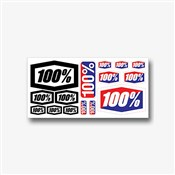 100% Decal Sheet 8x4""