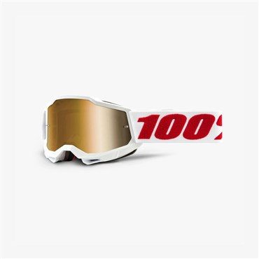 100% Accuri 2 Youth True Gold Lens Goggles