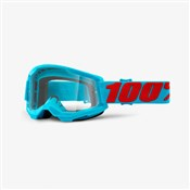100% Strata 2 Clear Lens Goggles