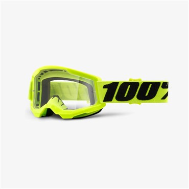 100% Strata 2 Youth Clear Lens Goggles