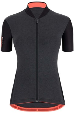 Santini Color Womens Short Sleeve Cycling Jersey