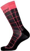 Product image for Santini Dinamo Medium Profile Printed Cycling Socks