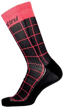 Santini Dinamo Medium Profile Printed Cycling Socks