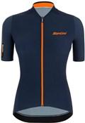 Santini Redux Stamina Womens Short Sleeve Cycling Jersey