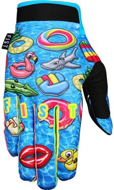 Fist Handwear Blow Up Youth Long Finger Cycling Gloves