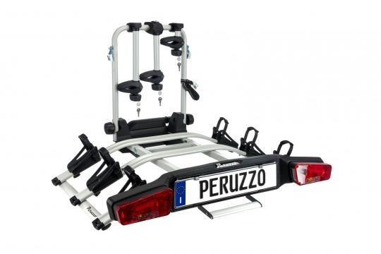 Peruzzo Zephyr 3 E-Bike Towball Car Rack