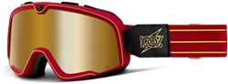 Product image for 100% Barstow True Gold Lens Goggles