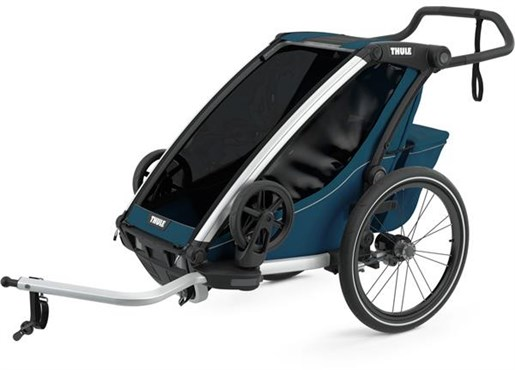 Thule Chariot Cross 1 Child Trailer with Cycling and Strolling Kit