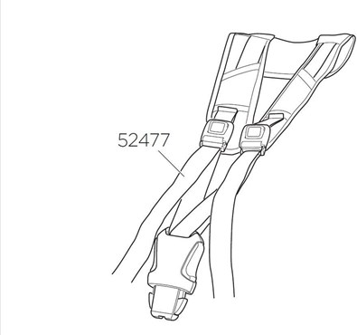 Thule RideAlong Harness