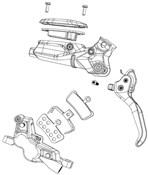 Product image for SRAM Disc Brake Hose Fitting Kit - Short Nut