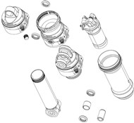 RockShox Rear Shock Spare Parts Damper Body/LFP