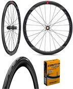 Product image for Fulcrum WIND 40 DB HG Wheelset with Free GP5000 Tyres & Tubes