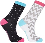 Product image for Madison Sportive Mid Sock Twin Pack