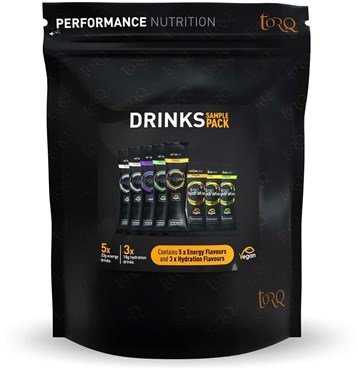 Torq Energy & Hydration Drink Taster Pack - Box of 8 Drinks