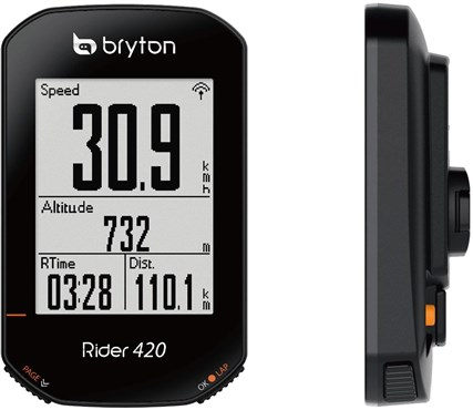 Bryton Rider 420T GPS Cycle Computer with ANT+/BLE HRM / Cadence Sensor