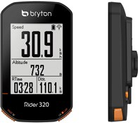 Product image for Bryton Rider 320T GPS Cycle Computer with ANT+/BLE HRM Cadence