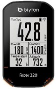 Bryton Rider 320T GPS Cycle Computer with ANT+/BLE HRM Cadence
