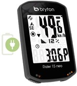Bryton Rider 15C Neo GPS Cycle Computer with ANT+/BLE Cadence Sensor