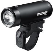 Product image for Ravemen CR450 USB Rechargeable T-Shape Anti-Glare Front Light with Remote - 450 Lumens