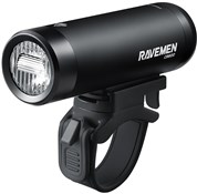 Ravemen CR600 USB Rechargeable T-Shape Anti-Glare Front Light with Remote - 600 Lumens