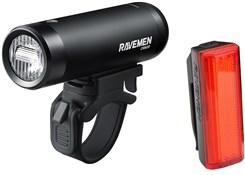 Ravemen CR600/TR20 USB Rechargeable Light Set - 600/20 Lumens