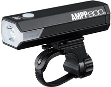 Product image for Cateye AMPP 800 USB Rechargeable Front Bike Light with Helmet Mount Kit