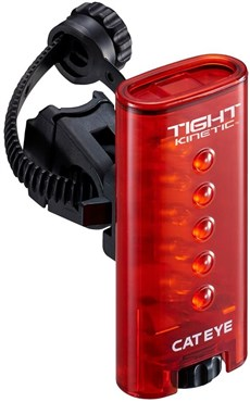 Cateye Tight Kinetic Rear Brake Bike Light