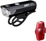 Cateye AMPP 100 & ViZ 100 Bike Light Set