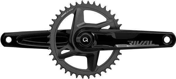 Sram Rival 1x Quarq Road Power Meter Dub Wide Chainset