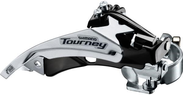 Shimano FD-TY500 MTB front derailleur top swing dual-pull and multi fit