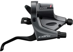 Product image for Shimano ST-RS200 / RS203 Claris 8-Speed Triple Road Flat Bar Levers