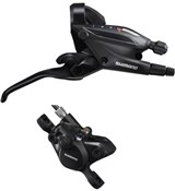 Product image for Shimano ST-EF505 hydraulic STI Shifter with BR-MT200 calliper