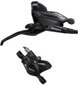 Shimano ST-EF505 hydraulic STI Shifter with BR-MT200 calliper