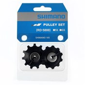Product image for Shimano 105 RD-5800 tension and guide pulley set for GS-type