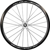Product image for Shimano Dura-Ace Disc Front Wheel Carbon Tubular 40 mm