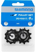 Product image for Shimano GRX RD-RX817 tension and guide pulley set