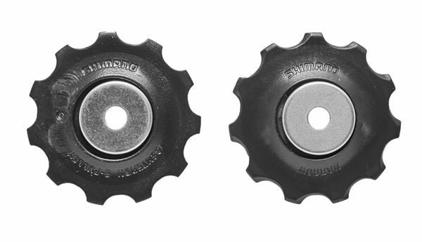 Shimano Altus RD-M370 tension and guide pulley set