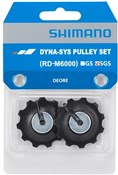 Shimano Deore RD-M6000 tension and guide pulley set