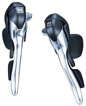 Microshift R9 2x9 Speed Dual Control Road Lever Set