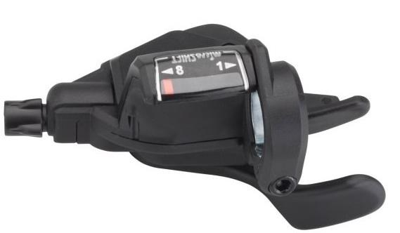 Microshift Mezzo TS39 8 Speed Thumb Tap Road Shifter Set