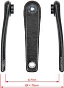 FSA Bosch E-Bike Carbon CK-702/IS Crank Arms