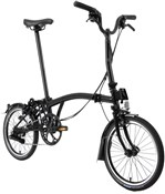 Brompton M6L Black Edition - Gloss Black 2021 - Folding Bike