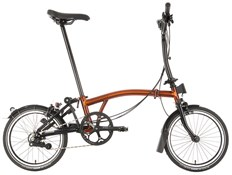 Brompton M6L Black Edition - Flame Lacquer 2021 - Folding Bike