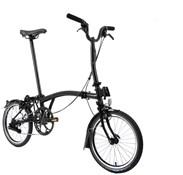 Brompton M6L Superlight Black Edition - Black 2021 - Folding Bike