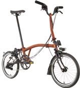 Brompton M6L Superlight Black Edition - Flame Lacquer 2021 - Folding Bike